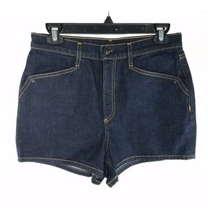 NEW Rag & Bone Indigo Dark Wash Ellie Shorts